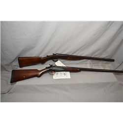 Lot of Two Firearms : Forehand and Wadsworth Model Single Barrel .12 Ga Side Hammer Break Action Sho