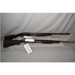 Lot of Two Firearms : Remington Model 10 .12 Ga Pump Action Shotgun w/ 30  bbl [ traces of blue turn