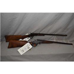 "Lot of Two Firearms : Stevens Model Crack - Shot 26 .22 LR Cal Rolling Block Rifle w/ 18"" bbl [ blue"
