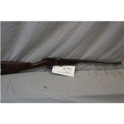 "Cooey Model Canuck .25 Rimfire Cal Single Shot Bolt Action Rifle w/ 18"" bbl [ fading patchy blue fin"