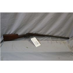 "Hopkins & Allen Model 932 .32 Rimfire Cal Single Shot Falling Block Rifle w/ 24"" bbl [ patchy faded"
