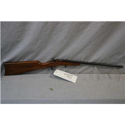 "Stevens Model Little Scout .22 LR Cal Single Shot Falling Block Rifle w/ 18"" bbl [ fading blue finis"