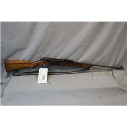 "Krag - Jorgensen Model Sporter 6.5 x 55 Cal ? Bolt Action Sporterized Rifle w/ 24"" bbl [ fading blue"