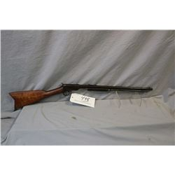 "Winchester Model 1906 .22 LR Cal Pump Action Tube Fed Rifle w/ 20"" bbl [ faded patchy and streaky bl"