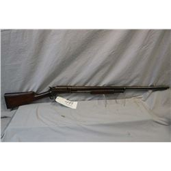 "Marlin Model 17 .12 Ga Pump Action Shotgun w/ 30"" bbls ( mismatched numbered bbl ) [ fading blue fin"
