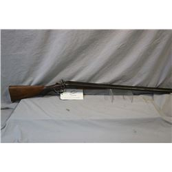 "United Arms Factories Model Side by Side Hammer .12 Ga Break Action Shotgun w/ 29 1/2"" bbls [ fading"