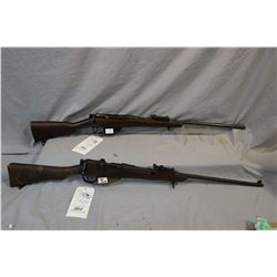 Lot of Two Firearms: Lee Enfield Model 22 Long Branch Frame Converted to .303 Brit Cal Sporterized B