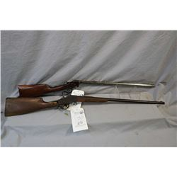Lot of Two Firearms: Hopkins & Allen Model 932 .32 Rimfire Cal Single Shot Falling Block Rifle w/ 24