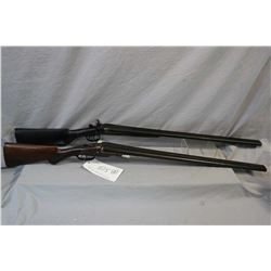 "Lot of Two Firearms : J. Manton & Co. Model Side By Side Hammer .16 Ga Break Action Shotgun w/ 30"" b"