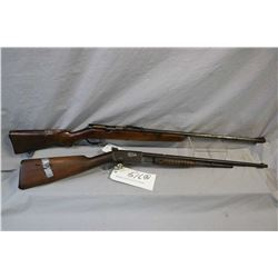 "Lot of Two Firearms : Remington Model 12 A .22 LR Cal Tube Fed Pump Action Rifle w/ 22"" bbl [ fading"