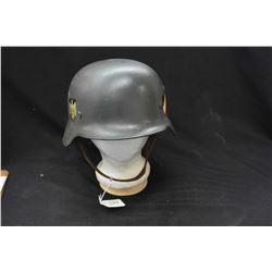 Vintage German military helmet