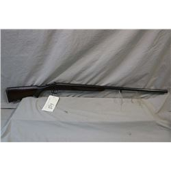 "Fer Union ( Hungary ) Model Single Barrel .12 Ga Break Action Shotgun w/ 32"" part octagon bbl [ blue"
