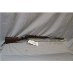 Remington Model 4 .22 Short or Long Cal Single Shot Rolling Block Rifle w/ 22 1/2 octagon bbl [ blue