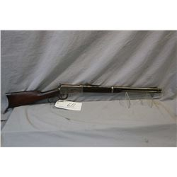 "Winchester Model 1894 .30 WCF Cal Saddle Ring Carbine w/ 20"" bbl [ traces of blue, polished to grey"