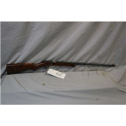 "Iver Johnson Model X .22 LR Cal Single Shot Bolt Action Rifle w/ 22"" bbl [ blued finish, barrel sigh"