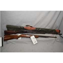 "Lot of Two Firearms: Winchester Model 1897 .12 Ga Pump Shotgun w/ 32"" bbl [ missing parts including"