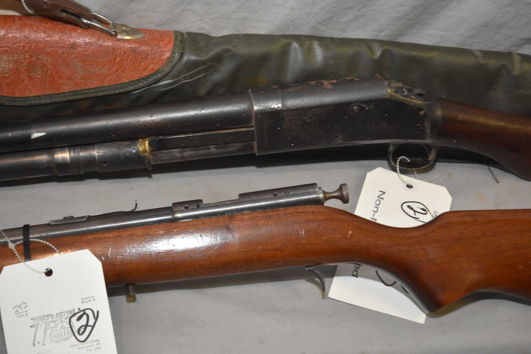 Lot of Two Firearms: Winchester Model 1897  12 Ga Pump