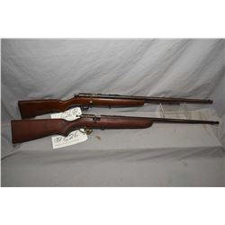 "Lot of Two Firearms : Cooey Model Repeater .22 LR Cal Tube Fed Bolt Action Rifle w/ 24"" bbl [ fading"