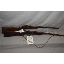 "Lot of Two Firearms : Eatonia Model Single Shot .22 LR Cal Single Shot Bolt Action Rifle w/ 18"" bbl"