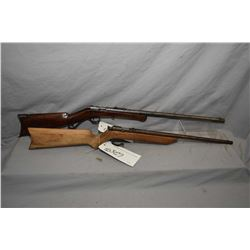 Lot of Two Rifles : Winchester Model 1904 .22 Short & Long ONLY Cal Single Shot Bolt Action Rifle w/