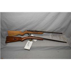 Lot of Two Firearms : Pieper Model Rimfire Sporter .22 Rimfire Cal Single Shot Bolt Action Rifle w/