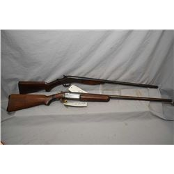 Lot of Two Firearms : Winchester Model 37 .12 Ga 2 3/4  Single Shot Break Action Shotgun w/ 30  bbl