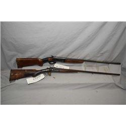 Lot of Two Firearms : Janssen & Sons Model Side By Side Hammer .410 Ga Break Action Shotgun w/ 26 1/