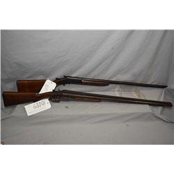 """Lot of Two Firearms : Stevens Model 235 .12 Ga Side By Side Hammer Shotgun w/ 30"""" bbls [ faded blue"""