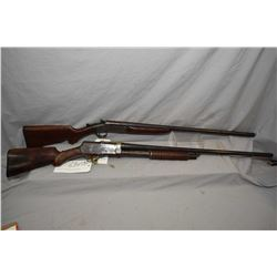 Lot of Two Firearms : Stevens Model Pump Action .12 Ga 2 3/4  Pump Action Shotgun w/ 30  bbl [ fadin