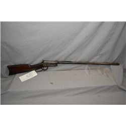 """Winchester Model 1894 .38 - 55 Cal Lever Action Rifle w/ 26"""" round bbl [ fading blue finish, turning"""