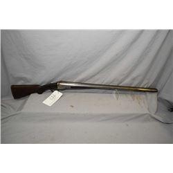"Parker Bros. Model V Grade .12 Ga Side By Side Hammerless Shotgun w/ 32"" bbls [ blued finish faded t"