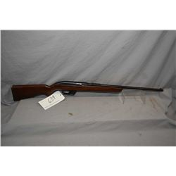 """Winchester Model 77 .22 LR Cal Mag Fed Semi Auto Rifle w/ 22"""" bbl [ blued finish, back sight missing"""