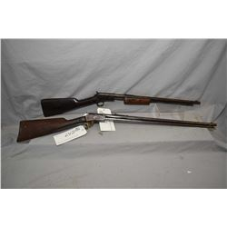 """Lot of Two Firearms : Winchester Model 1906 .22 LR Cal Tube Fed Pump Action Rifle w/ 20"""" bbl [ blued"""