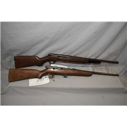 Lot of Two Firearms : Mossberg Model 152 K .22 LR Cal Mag Fed Semi Auto Rifle w/ 18 1/4  bbl [ trace