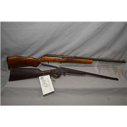 Lot of Two Firearms : Cooey Model 64 .22 LR Cal Mag Fed Semi Auto Rifle w/ 20  bbl [ faded blue fini
