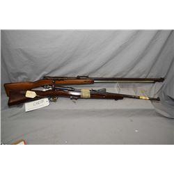 Lot of Two Firearms : Schmidt Rubin Model 1889 7.5 x 55 Cal Straight Pull Bolt Action Sporterized PA