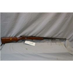 """Cooey Model Repeater .22 LR Cal Tube Fed Bolt Action Rifle w/ 24"""" bbl [ faded blue finish turning br"""