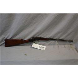 "Stevens Model Little Scout .22 LR Cal Single Shot Rolling Block Rifle w/ 18"" bbl [ faded blue finish"