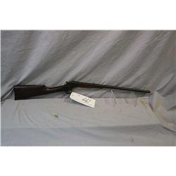 "Stevens Model Crack - Shot .22 LR Cal Single Shot Rolling Block w/ 20"" bbl [ fading blue finish, tur"