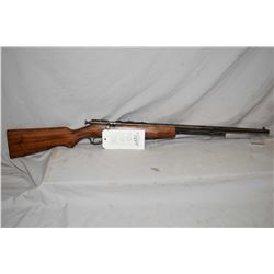 """Ranger Repeater, .22 LR tube fed bolt action rifle w/ 24"""" bbl. [blued barrel and wooden stock, worn"""
