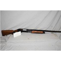 "Uzkon Model AS-11, 12 gauge tube fed pump action shotgun w/ 28"" bbl. [ blued receiver and ribbed bar"