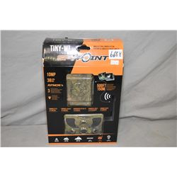 Skypoint Model Tiny W3 wireless trail cam system with 10 megapixal 38 LED visible, HD video and soun
