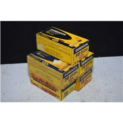 Five full 50 count boxes of Dominion .38 Special, 158 grain ammunition