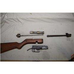 Parts for a Yugoslavian M94/57 [PPSH look-alike] including bolt, spring, trigger group, barrel and s