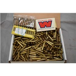 Large selection of sized and primed 30-06, 284 Win, 7mm Mauser brass etc. [ ammunition licence and s