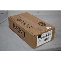 "Factory sealed case of Kent Cartridge Fasteel 12 gauge 3 1/2"" 1 3/8 oz. shot size 2 ammunition. Stoc"