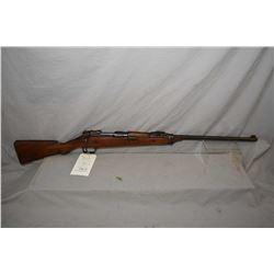"Ross Mk II .303 Brit, mag fed, bolt action sporterized rifle w/ 26"" bbl. [ blued finish turned mostl"