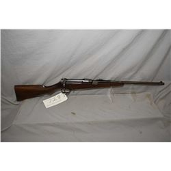"Ross Mk II .303 Brit, mag fed, bolt action sporterized rifle w/ 22"" bbl. [blued finish turning mostl"