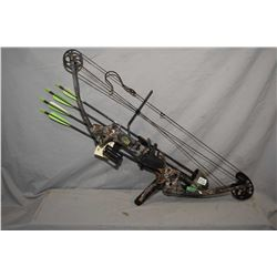 Martin Jaguar Magnum compound bow, peak weight 55.70, camo. finish, including accessories: sight sys