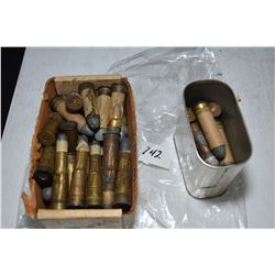 Large selection of collector ammunition including Snider .577 cal. etc.